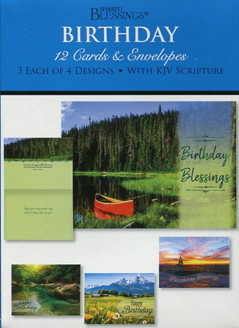 inspirational scenic birthday cards
