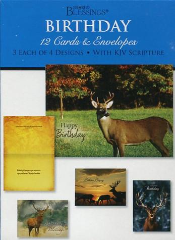 masculine wildlife birthday cards