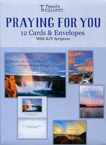 Prayer greeting cards