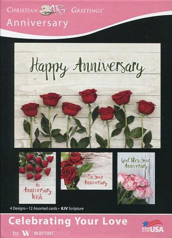 Christian anniversary cards