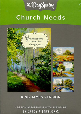 Church ministry cards