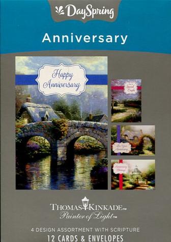 Thomas Kinkade Anniversary Greeting Cards