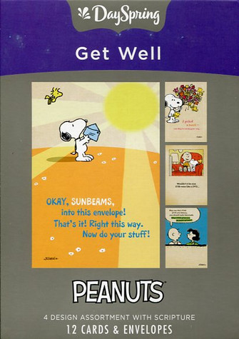 Peanuts - get well cards