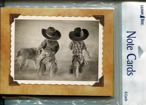 Little Cowboys - Notecards