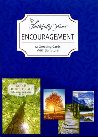 Scripture encouragement cards