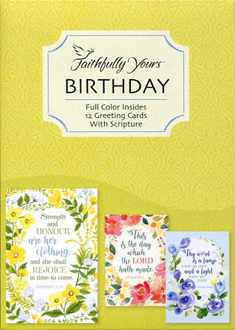 Christian birthday greeting cards