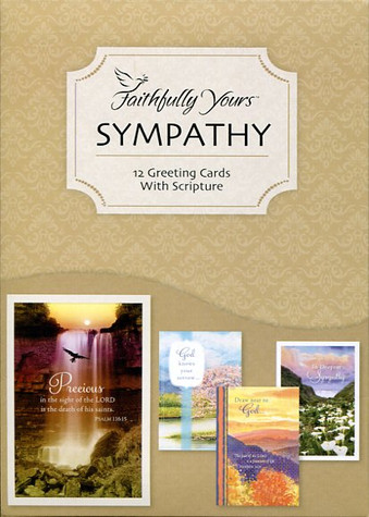 sympathy support greeting cards