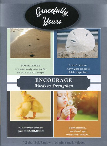 Religious encouragement cards