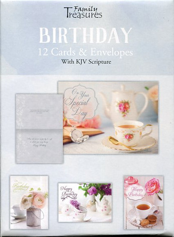 Feminine birthday cards