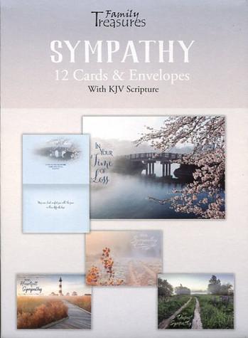 Inspirational sympathy cards