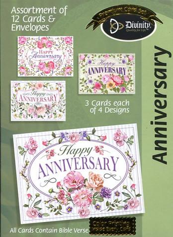 boxed anniversary cards