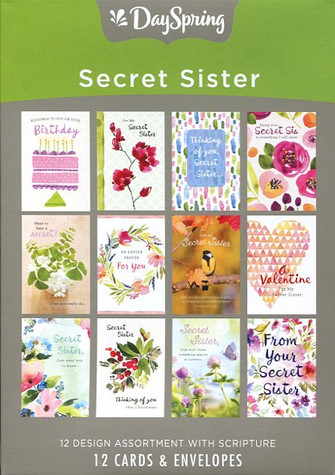 Secret Sister Greeting Cards