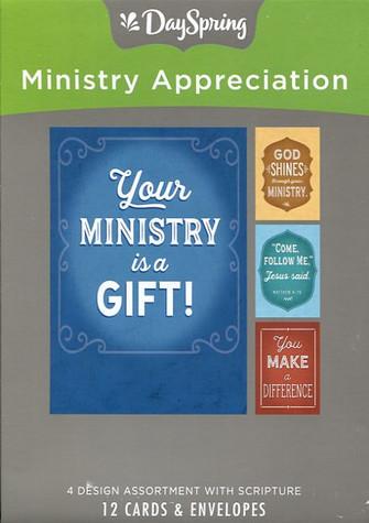 Ministry appreciation cards