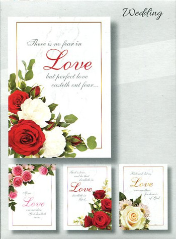 religious wedding cards