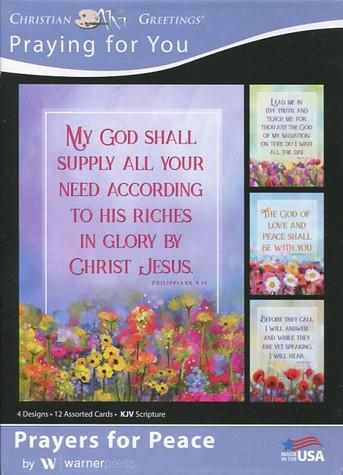 Scripture prayer cards