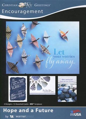 Boxed religious encouragement cards