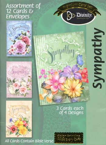 Scripture sympathy cards