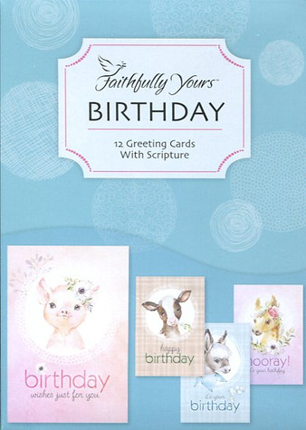 Children Christian birthday cards