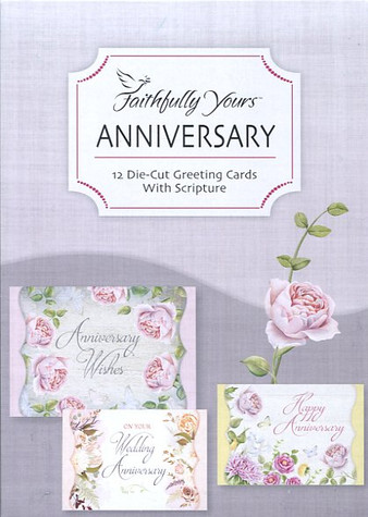 boxed religious anniversary cards