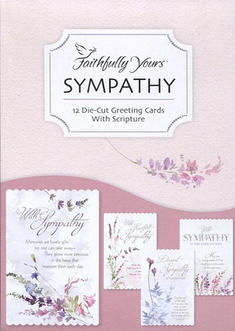 sympathy boxed greeting cards