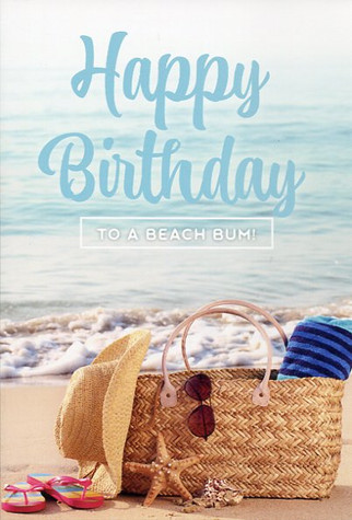 Single birthday card