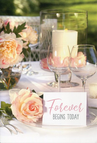 Single wedding card