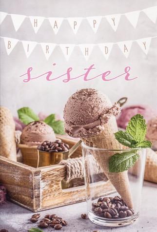 Sister Birthday Card  #63416