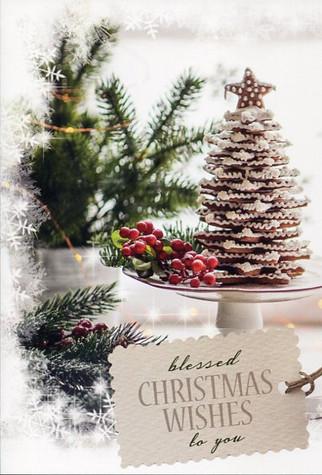 single Christmas card