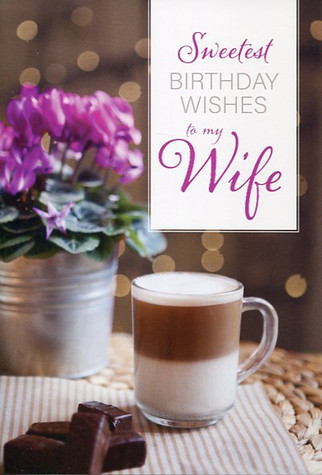 birthday card for wife