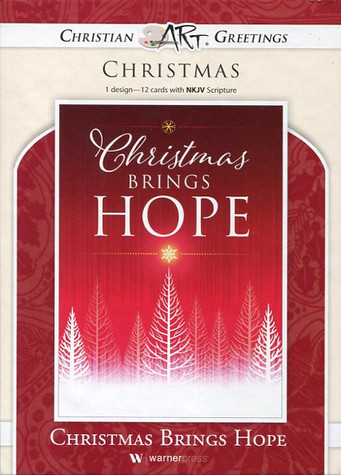 boxed religious Christmas cards