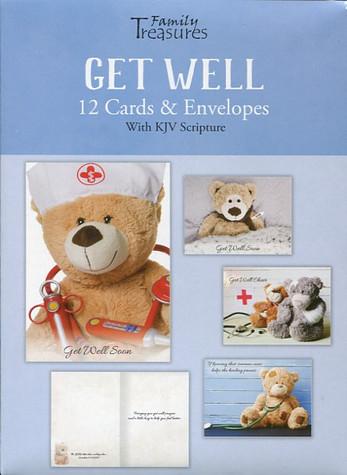 Christian get well cards - Dr Teddy