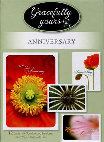 12 Boxed Christian anniversary cards