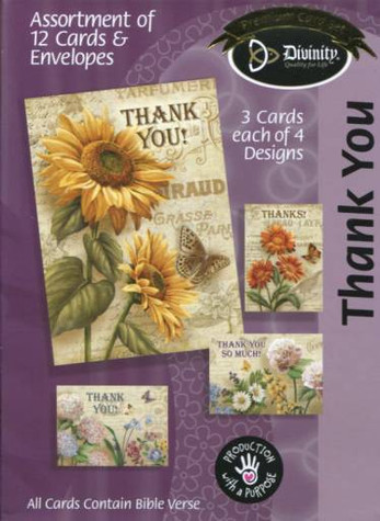 French & Flowers boxed thank you cards from Divinity.