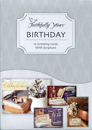 Faithfully Yours Birthday Cards