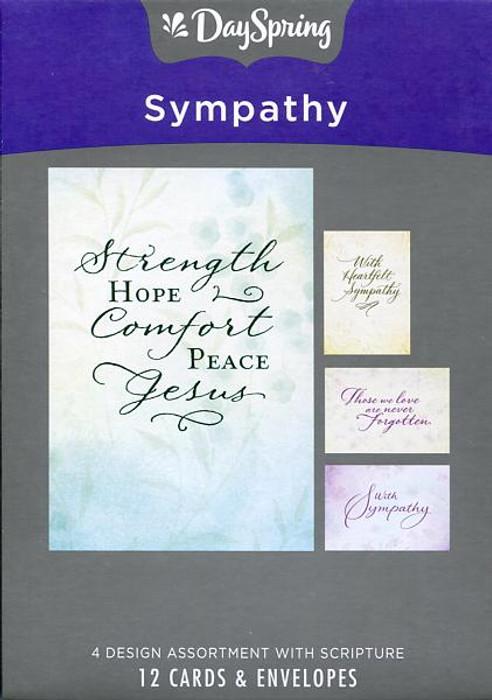 Boxed Sympathy Cards