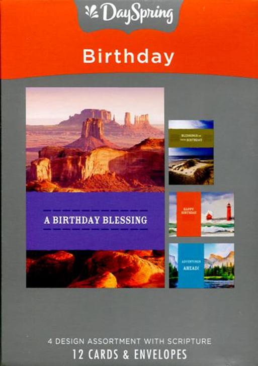 DaySpring Birthday Card - A Year of Adventure