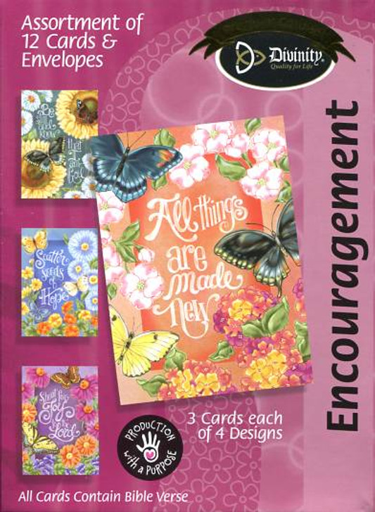 Butterfly Garden - Encouragement Cards