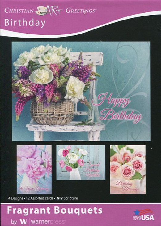 Feminine Christian Birthday Cards
