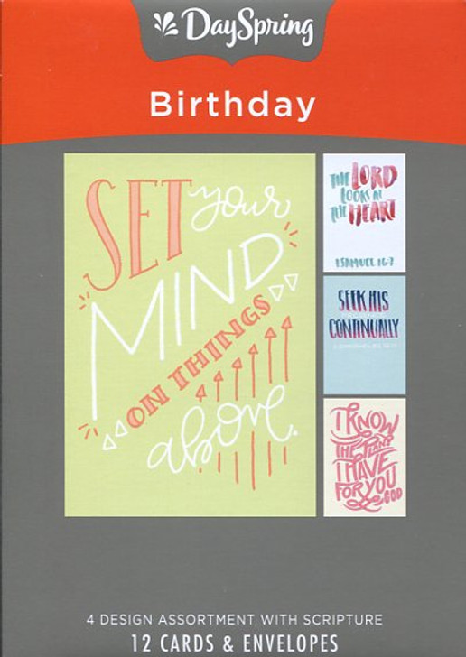 DaySpring Boxed Birthday Cards