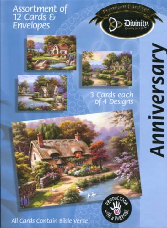 Christian anniversary cards - Divinity 21717