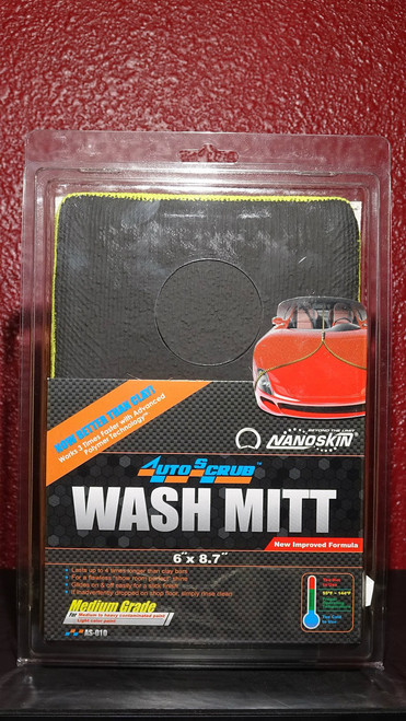Auto Scrub Medium Grade Clay Wash Mitt