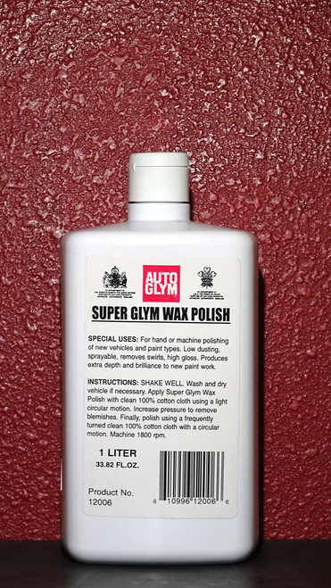 Autoglym Super Glym Wax Polish