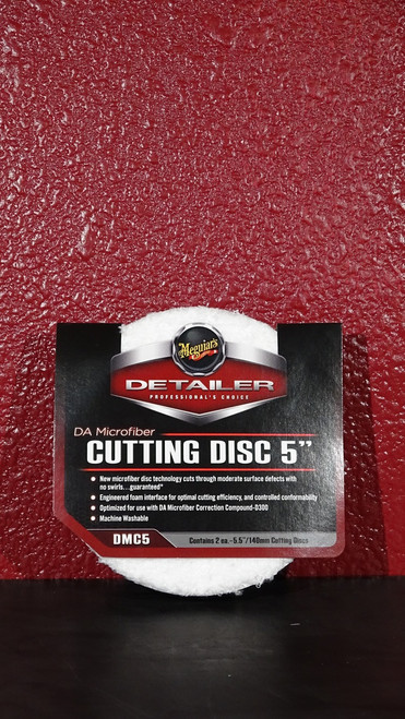 DA Microfiber Cutting Disc 5""