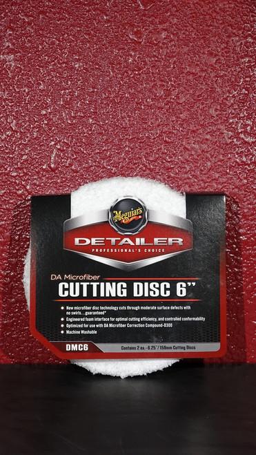 """DA Microfiber Cutting Disc 6"""""""