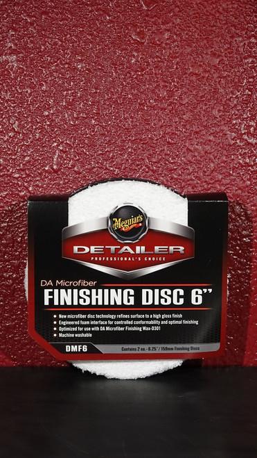 "DA Microfiber Finishing Disc 6"""