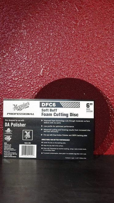 """DA Foam Cutting Disc 6"""""""