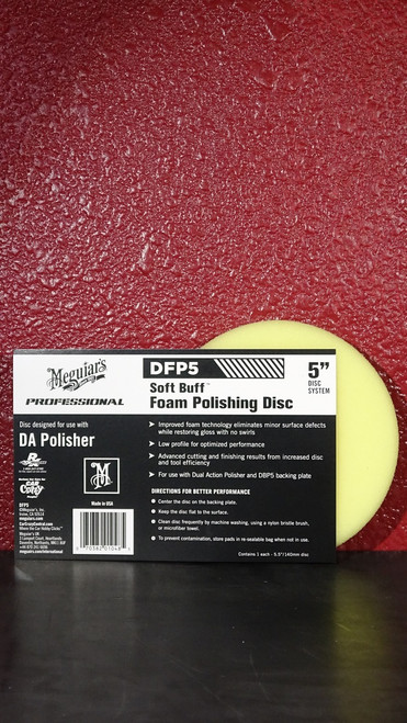 DA Foam Polishing Disc 5""