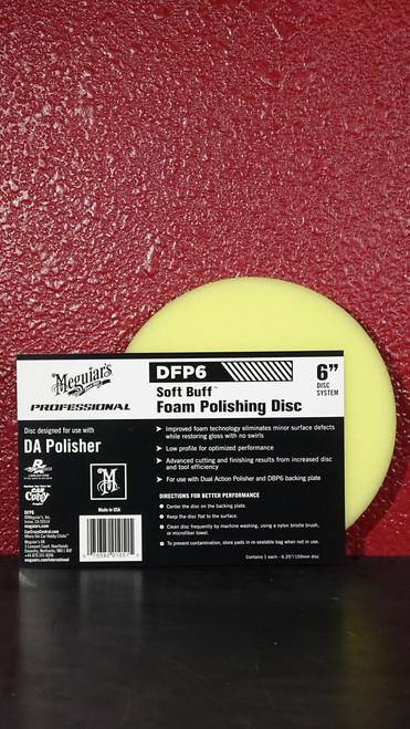 "DA Foam Polishing Disc 6"""