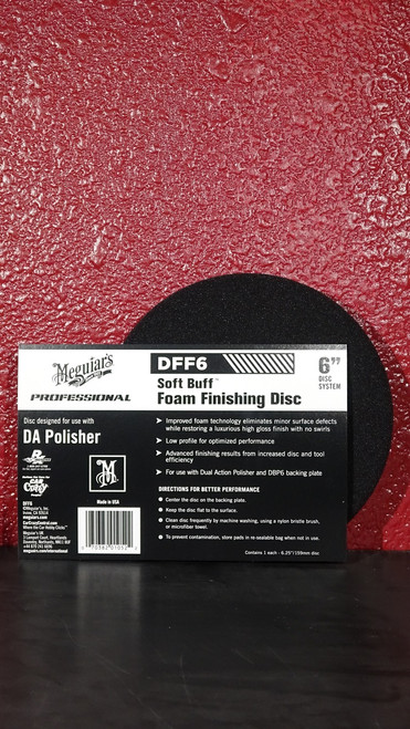 "DA Foam Finishing Disc 6"""