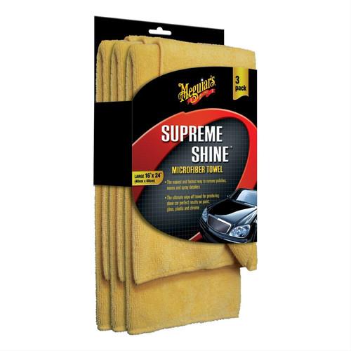 Supreme Shine Microfiber Towel (3 pack)